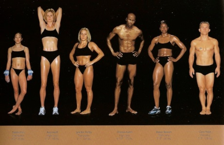 Το σώμα των αθλητών