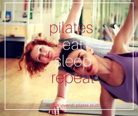 pilates eat sleep repeat
